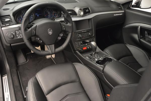 Used 2016 Maserati GranTurismo Sport for sale Sold at Bentley Greenwich in Greenwich CT 06830 13