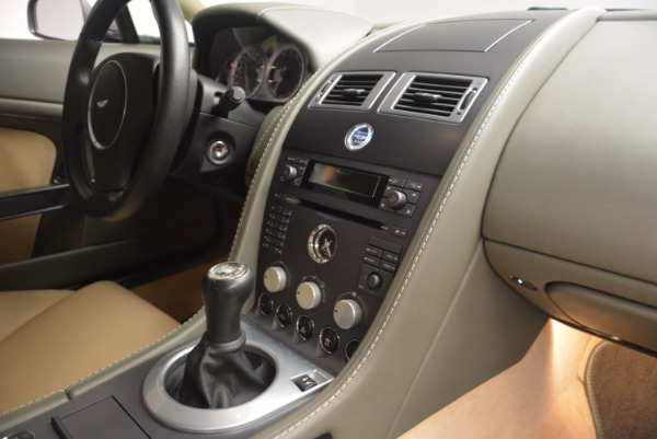 Used 2006 Aston Martin V8 Vantage for sale Sold at Bentley Greenwich in Greenwich CT 06830 16
