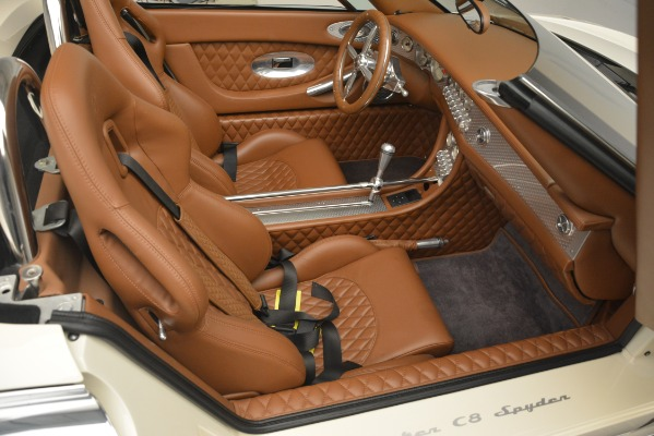 Used 2006 Spyker C8 Spyder for sale Sold at Bentley Greenwich in Greenwich CT 06830 22