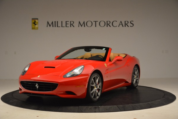 Used 2010 Ferrari California for sale Sold at Bentley Greenwich in Greenwich CT 06830 1