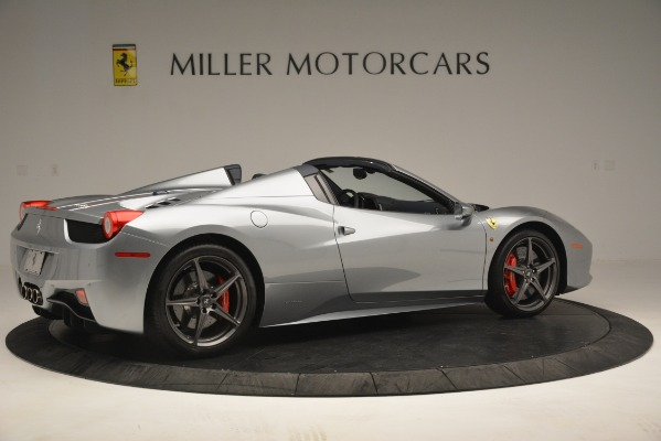Used 2015 Ferrari 458 Spider for sale Sold at Bentley Greenwich in Greenwich CT 06830 8