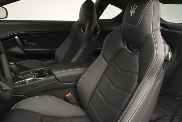 New 2016 Maserati GranTurismo Sport for sale Sold at Bentley Greenwich in Greenwich CT 06830 19