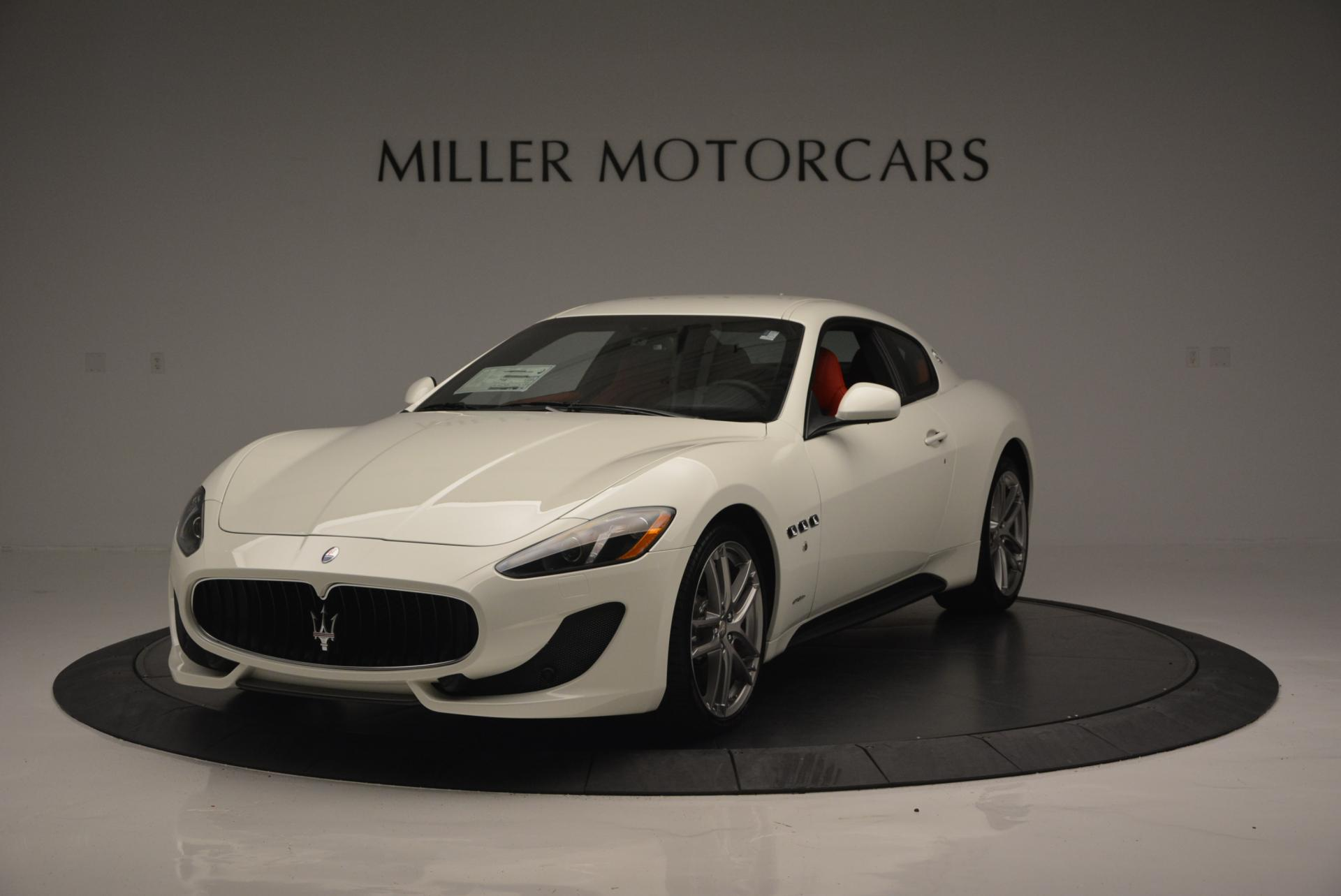 New 2017 Maserati GranTurismo Sport for sale Sold at Bentley Greenwich in Greenwich CT 06830 1