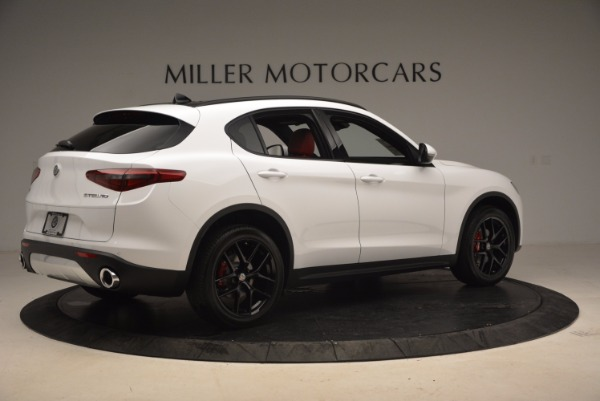 New 2018 Alfa Romeo Stelvio Ti Sport Q4 for sale Sold at Bentley Greenwich in Greenwich CT 06830 8