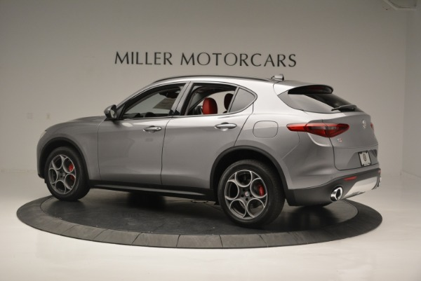 New 2018 Alfa Romeo Stelvio Sport Q4 for sale Sold at Bentley Greenwich in Greenwich CT 06830 3