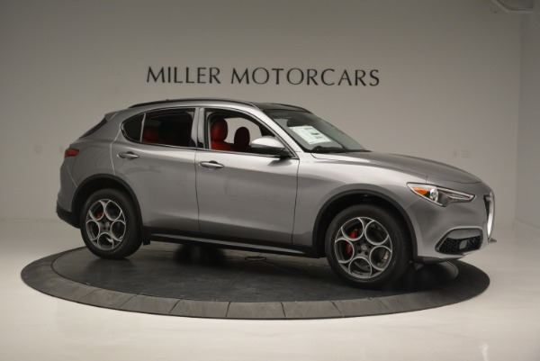 New 2018 Alfa Romeo Stelvio Sport Q4 for sale Sold at Bentley Greenwich in Greenwich CT 06830 9