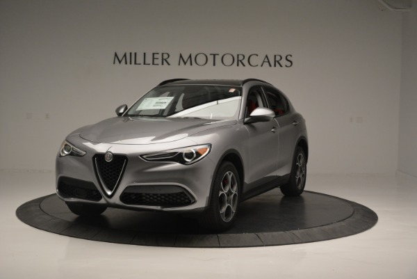 New 2018 Alfa Romeo Stelvio Sport Q4 for sale Sold at Bentley Greenwich in Greenwich CT 06830 1