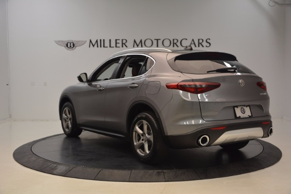 New 2018 Alfa Romeo Stelvio Q4 for sale Sold at Bentley Greenwich in Greenwich CT 06830 5
