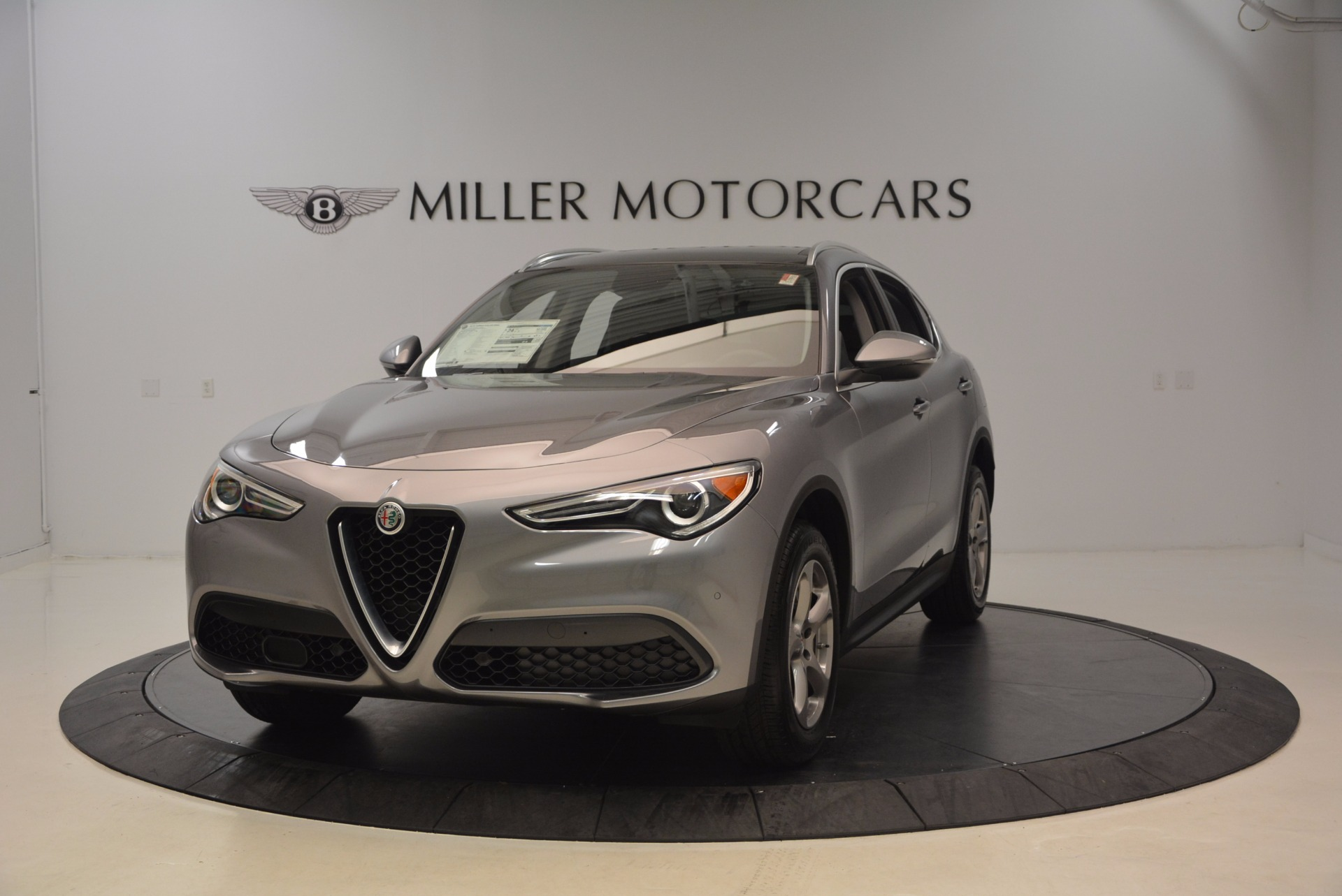 New 2018 Alfa Romeo Stelvio Q4 for sale Sold at Bentley Greenwich in Greenwich CT 06830 1
