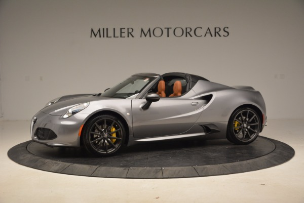 New 2018 Alfa Romeo 4C Spider for sale Sold at Bentley Greenwich in Greenwich CT 06830 3