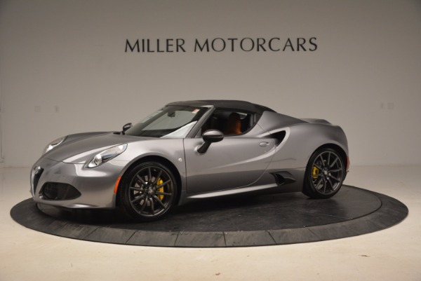 New 2018 Alfa Romeo 4C Spider for sale Sold at Bentley Greenwich in Greenwich CT 06830 4