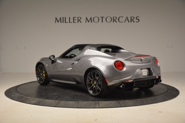 New 2018 Alfa Romeo 4C Spider for sale Sold at Bentley Greenwich in Greenwich CT 06830 9