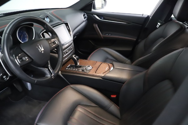 Used 2018 Maserati Ghibli S Q4 for sale Sold at Bentley Greenwich in Greenwich CT 06830 14