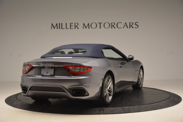 Used 2018 Maserati GranTurismo Sport Convertible for sale Sold at Bentley Greenwich in Greenwich CT 06830 14