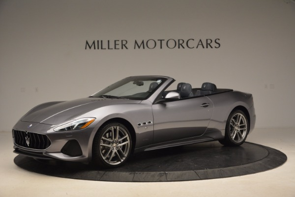 Used 2018 Maserati GranTurismo Sport Convertible for sale Sold at Bentley Greenwich in Greenwich CT 06830 3