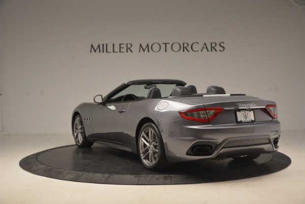 Used 2018 Maserati GranTurismo Sport Convertible for sale Sold at Bentley Greenwich in Greenwich CT 06830 9