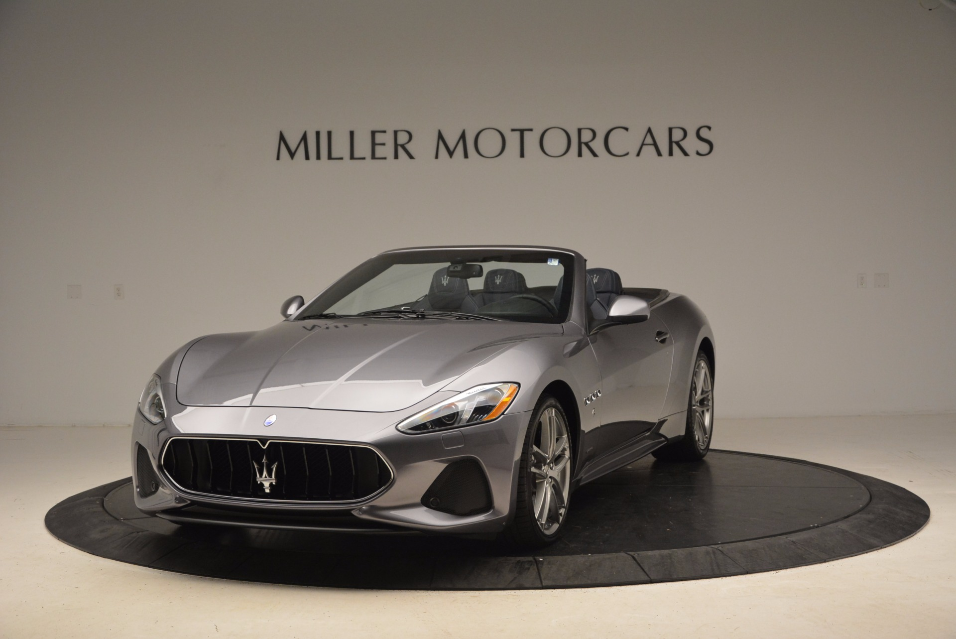 Used 2018 Maserati GranTurismo Sport Convertible for sale Sold at Bentley Greenwich in Greenwich CT 06830 1