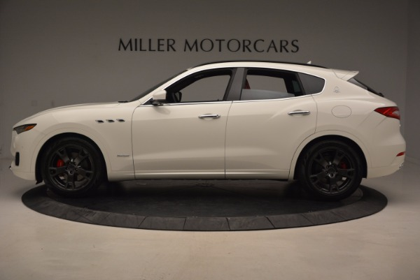New 2018 Maserati Levante Q4 GranLusso for sale Sold at Bentley Greenwich in Greenwich CT 06830 3