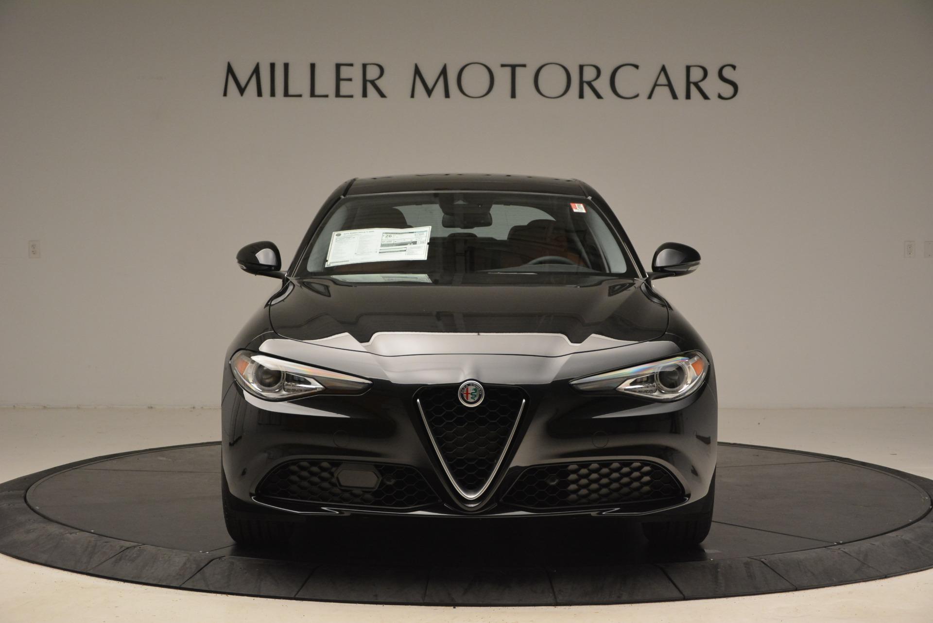 New 2018 Alfa Romeo Giulia Ti Lusso Q4 for sale Sold at Bentley Greenwich in Greenwich CT 06830 1