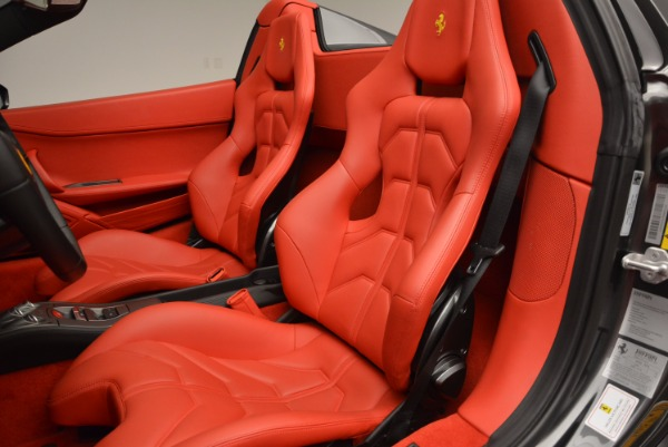 Used 2014 Ferrari 458 Spider for sale Sold at Bentley Greenwich in Greenwich CT 06830 27