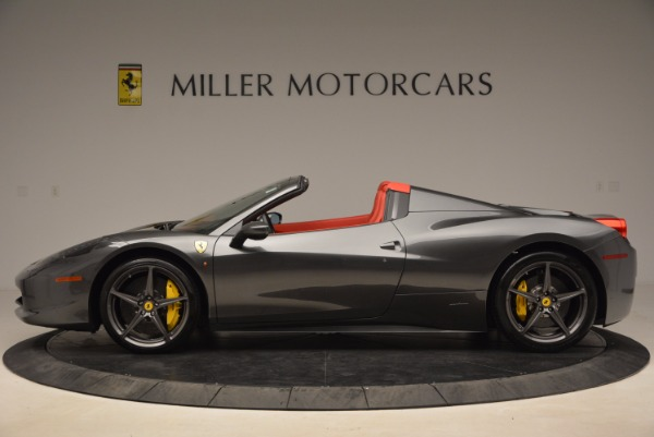 Used 2014 Ferrari 458 Spider for sale Sold at Bentley Greenwich in Greenwich CT 06830 3