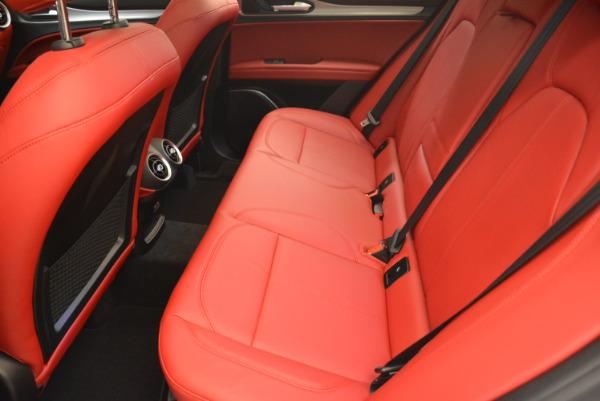 New 2018 Alfa Romeo Stelvio Sport Q4 for sale Sold at Bentley Greenwich in Greenwich CT 06830 17