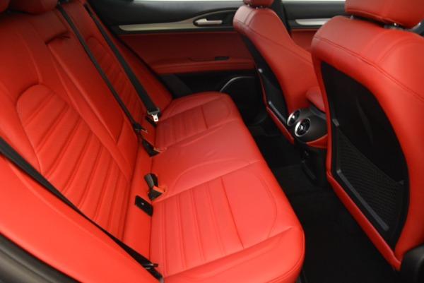 New 2018 Alfa Romeo Stelvio Ti Sport Q4 for sale Sold at Bentley Greenwich in Greenwich CT 06830 23