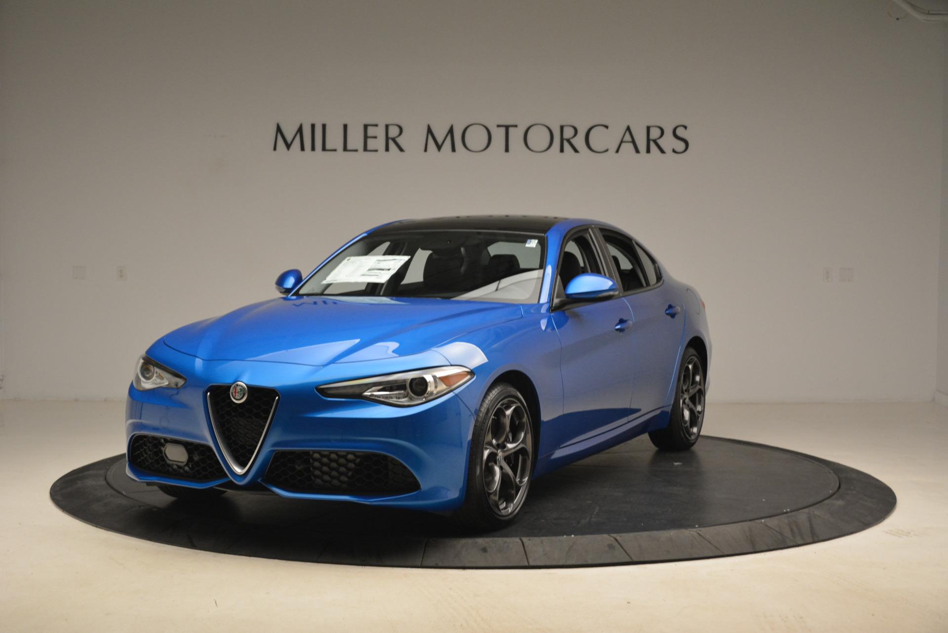 New 2018 Alfa Romeo Giulia Ti Sport Q4 for sale Sold at Bentley Greenwich in Greenwich CT 06830 1