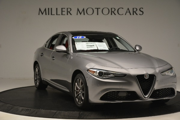 Used 2018 Alfa Romeo Giulia Q4 for sale Sold at Bentley Greenwich in Greenwich CT 06830 11