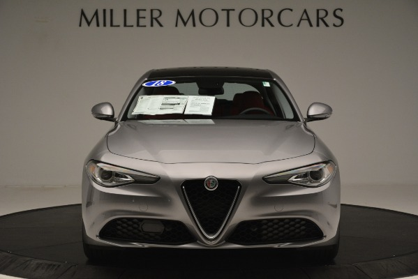Used 2018 Alfa Romeo Giulia Q4 for sale Sold at Bentley Greenwich in Greenwich CT 06830 12