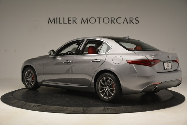 Used 2018 Alfa Romeo Giulia Q4 for sale Sold at Bentley Greenwich in Greenwich CT 06830 4