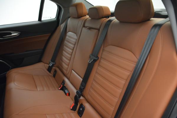 New 2018 Alfa Romeo Giulia Ti Lusso Q4 for sale Sold at Bentley Greenwich in Greenwich CT 06830 18