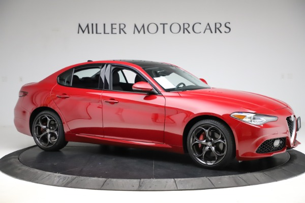 Used 2018 Alfa Romeo Giulia Ti Sport Q4 for sale Sold at Bentley Greenwich in Greenwich CT 06830 10