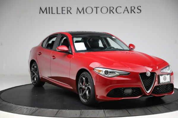Used 2018 Alfa Romeo Giulia Ti Sport Q4 for sale Sold at Bentley Greenwich in Greenwich CT 06830 11