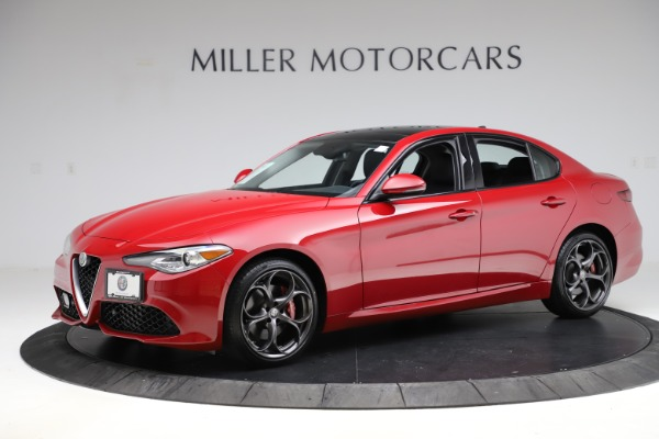 Used 2018 Alfa Romeo Giulia Ti Sport Q4 for sale Sold at Bentley Greenwich in Greenwich CT 06830 2