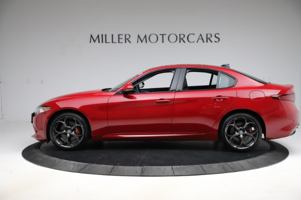 Used 2018 Alfa Romeo Giulia Ti Sport Q4 for sale Sold at Bentley Greenwich in Greenwich CT 06830 3