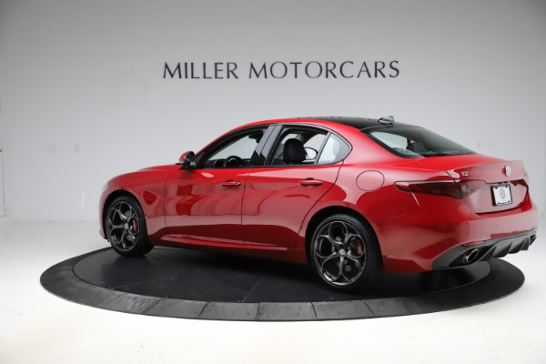 Used 2018 Alfa Romeo Giulia Ti Sport Q4 for sale Sold at Bentley Greenwich in Greenwich CT 06830 4