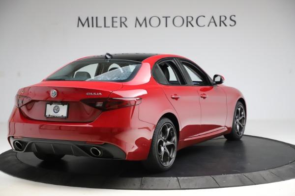 New 2018 Alfa Romeo Giulia Ti Sport Q4 for sale Sold at Bentley Greenwich in Greenwich CT 06830 7