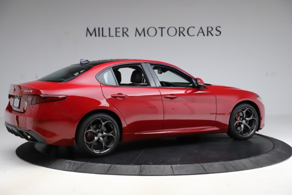 Used 2018 Alfa Romeo Giulia Ti Sport Q4 for sale Sold at Bentley Greenwich in Greenwich CT 06830 8