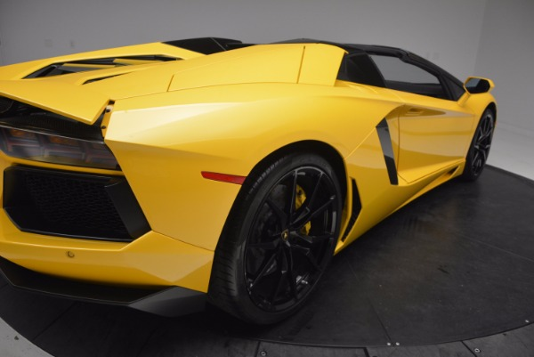 Used 2015 Lamborghini Aventador LP 700-4 Roadster for sale Sold at Bentley Greenwich in Greenwich CT 06830 20