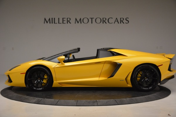 Used 2015 Lamborghini Aventador LP 700-4 Roadster for sale Sold at Bentley Greenwich in Greenwich CT 06830 3