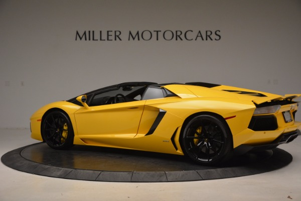 Used 2015 Lamborghini Aventador LP 700-4 Roadster for sale Sold at Bentley Greenwich in Greenwich CT 06830 4
