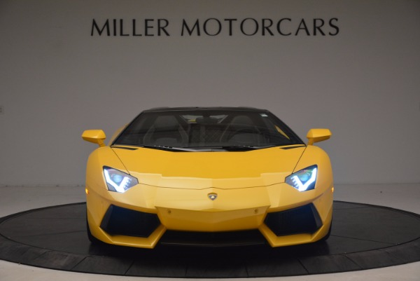 Used 2015 Lamborghini Aventador LP 700-4 Roadster for sale Sold at Bentley Greenwich in Greenwich CT 06830 7