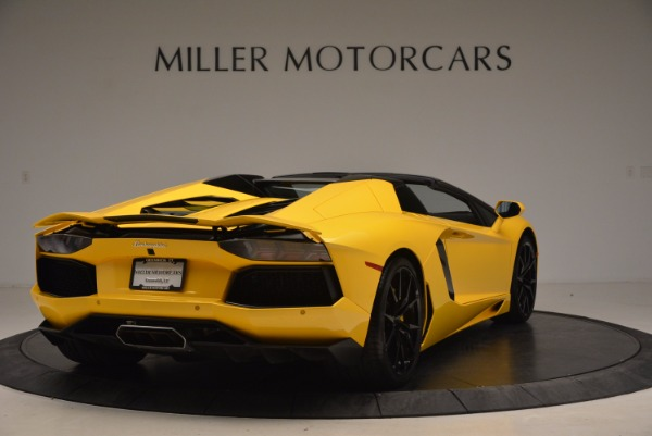 Used 2015 Lamborghini Aventador LP 700-4 Roadster for sale Sold at Bentley Greenwich in Greenwich CT 06830 8