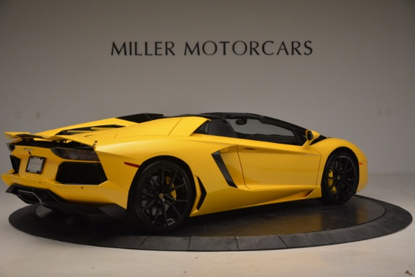 Used 2015 Lamborghini Aventador LP 700-4 Roadster for sale Sold at Bentley Greenwich in Greenwich CT 06830 9