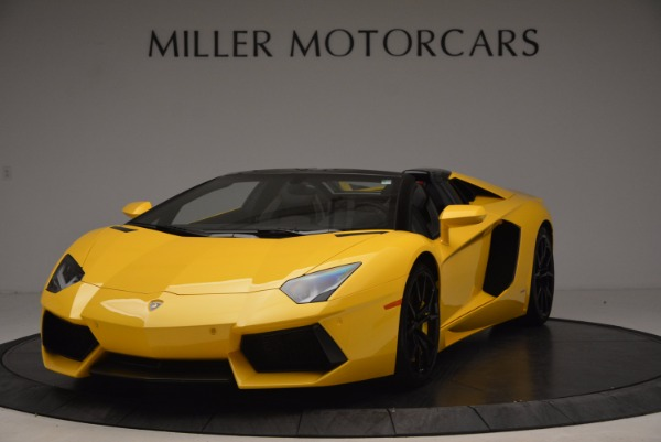 Used 2015 Lamborghini Aventador LP 700-4 Roadster for sale Sold at Bentley Greenwich in Greenwich CT 06830 1