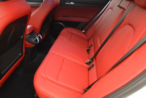 New 2018 Alfa Romeo Stelvio Ti Q4 for sale Sold at Bentley Greenwich in Greenwich CT 06830 20