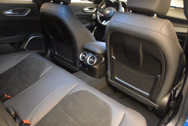 New 2018 Alfa Romeo Giulia Quadrifoglio for sale Sold at Bentley Greenwich in Greenwich CT 06830 22