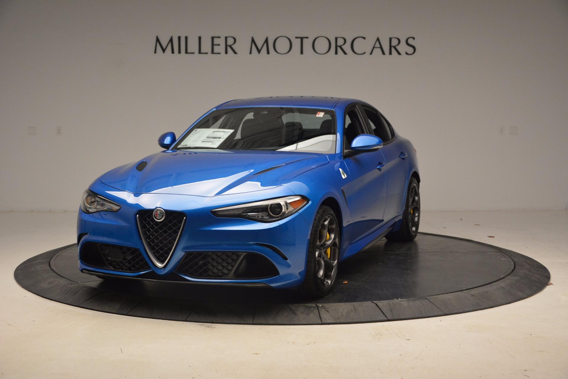 New 2018 Alfa Romeo Giulia Quadrifoglio for sale Sold at Bentley Greenwich in Greenwich CT 06830 1