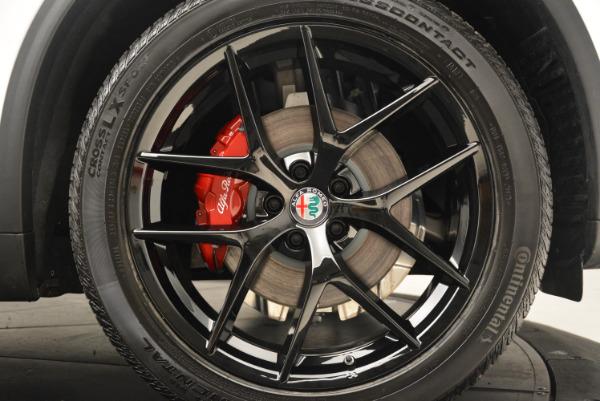 New 2018 Alfa Romeo Stelvio Ti Sport Q4 for sale Sold at Bentley Greenwich in Greenwich CT 06830 25